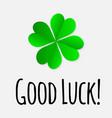 Four leaf clover lucky symbol good luck wish