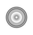 mandala sacred geometry tattoo symbol elements vector image