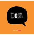 Modern style speech bubbles for labels stickers vector image vector image