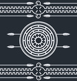 native ethnic art symbol vector image