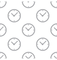 New Clock seamless pattern vector image vector image