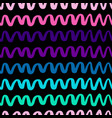 pink and violet wavy lines pattern-05 vector image vector image