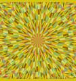 abstract dynamic circular tile pattern mosaic vector image vector image