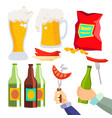beer party alcohol drink icon symbol vector image
