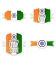 India Independence Day Banners Set vector image vector image