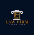 law firm logo design idea
