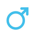 male man symbol gender and sexual orientation vector image