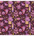 nature badoodle pattern vector image vector image