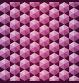 pink and purple seamless pattern of volumetric vector image