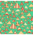 Seamless background colorful hipster pattern vector image vector image