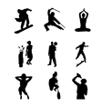 People Silhouette - 05 vector image