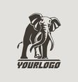 Elephants logo sign pictogram-05 vector image