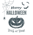 Happy Halloween poster template vector image vector image