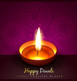 hindu festival of diwali vector image vector image