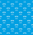 large format inkjet printer pattern seamless blue vector image vector image