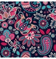 Paisley seamless pattern Floral background in vector image vector image