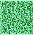 seamless repeating pattern with green leaf vector image vector image