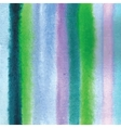 Watercolor striped background vector image
