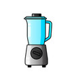 blender juicer icon filled flat sign vector image vector image