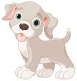 Cute puppy vector image vector image