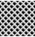 Design seamless monochrome diagonal pattern vector image vector image