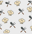 food pattern theme wallpaper vector image