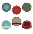 Promo Badges vector image