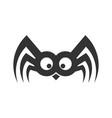 spider funny logo sign eps vector image
