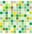 springtime mosaic pattern vector image vector image