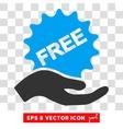 Free Present Eps Icon vector image vector image
