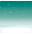 Snow theme background vector image