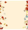 Beautiful autumn Leaves vector image