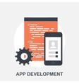 App Development vector image vector image