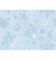Blue Christmas Paper vector image vector image