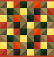 bright pattern of colored squares vector image