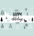 christmas card background card vector image vector image