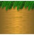 Fir Green Branch vector image vector image