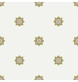 Geometric ornament Thin line seamless pattern vector image