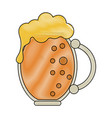 glass of beer icon image vector image vector image