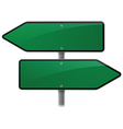 Arrow Sign Choice vector image