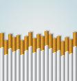 Cigarette background vector image