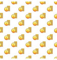 coins pattern vector image vector image