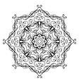 floral ornament arabesque hand drawn sketch