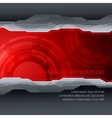 futuristic technical background vector image vector image