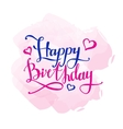 Happy Birthday design concept Hand vector image vector image