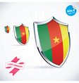 I Love Cameroon Flag vector image vector image