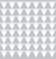 silver grey geometric triangles seamless vector image vector image