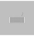 Keyboard computer symbol vector image