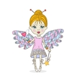 Cute cartoon Fairy vector image vector image