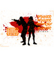 duo woman and man in pubg vector image vector image